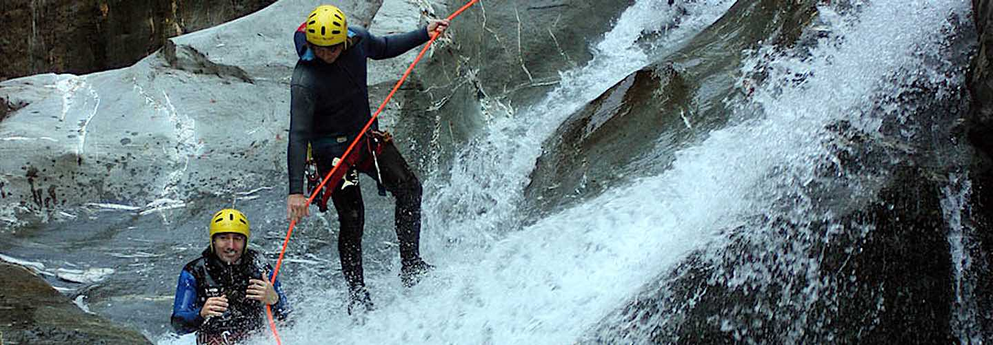 Canyoning guide - Tarentaise Tours